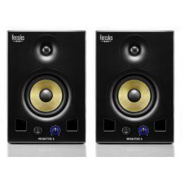 Hercules DJ Monitor 5 Monitores de estudio autoamplificados (pareja)
