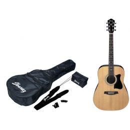 Ibanez V50NJP NT Jam Pack Pack guitarra acústica tipo dreadnought