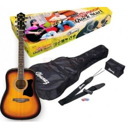 Ibanez V50NJP VS Jam Pack Pack guitarra acústica tipo dreadnought
