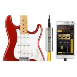 IK Multimedia iRIGHDA Interface de audio de guitarra para Android