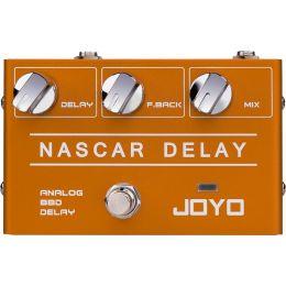 Joyo  R10 Nascar Delay Pedal de efecto Delay para guitarra eléctrica