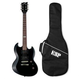 LTD Viper 10 Kit BLK Guitarra eléctrica de doble cutaway