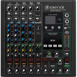 Mackie Onyx8 Mezclador analógico de 8 canales con USB