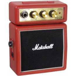 Marshall MS2 Red Amplificador mini guitarra electrica