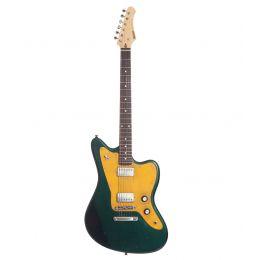 Maybach Guitars Jazpole 63 Variotone 60s Caddy Green Metallic Aged