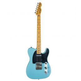 Maybach Guitars Teleman T54 Caddy Blue Aged