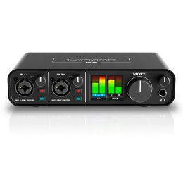 Motu M2 Interfaz de audio USB C de 2 canales