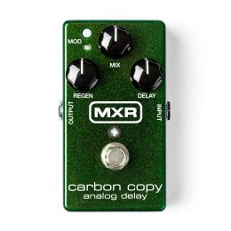 MXR Fx Delay Carbon Copy Pedal delay para guitarra y bajo