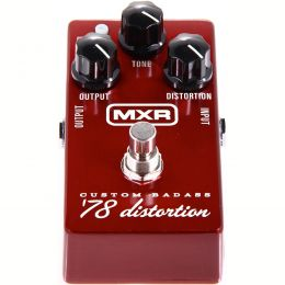 MXR M78 Custom Badass '78 Distortion Pedal de distorsión para guitarra eléctrica