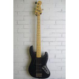Nash Guitars Jazz Bass JB5 Black MN Light