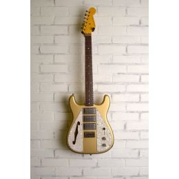 Nash Guitars WF3 Wayfarer Aztec Gold DiMarzios Light