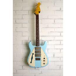 Nash Guitars WF3 Wayfarer Sonic Blue DiMarzios Light