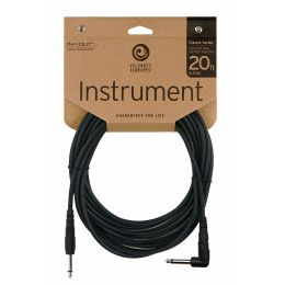 Planet Waves PW CGTRA 20 Cable de guitarra de 6 m.