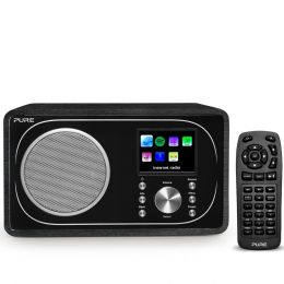 Pure Evoke F3 Negro (B-Stock) Radio digital con Bluetooth