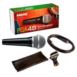 Shure PGA48 QTR Micrófono económico para karaoke