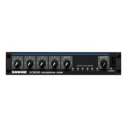 Shure SCM268E Mezclador de micrófonos de 4 canales