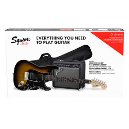 Squier Affinity Series Strat HSS Pack BS