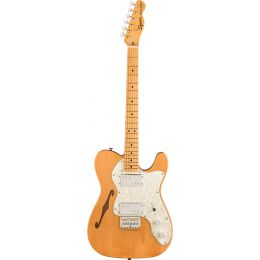 Squier Classic Vibe 70s Telecaster Thinline MN Natural Guitarra eléctrica Telecaster
