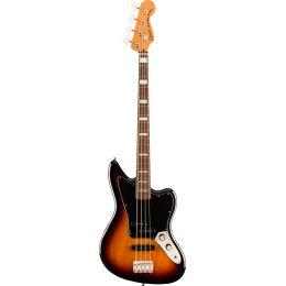 Squier Classic Vibe Jaguar Bass LRL 3-Color Sunburst Bajo eléctrico de 4 cuerdas
