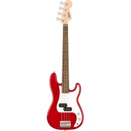 Squier Mini Precision Bass LRL Dakota Red Bajo eléctrico