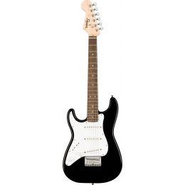 Squier Mini Stratocaster Left-Handed LRL Black Guitarra eléctrica tamaño pequeño