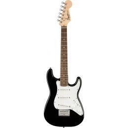Squier Mini Stratocaster LRL Black Guitarra eléctrica tamaño pequeño