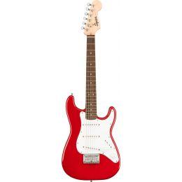 Squier Mini Stratocaster LRL Dakota Red Guitarra eléctrica tamaño pequeño