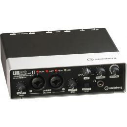 Steinberg UR22 MKII Interface de audio USB para PC y Mac