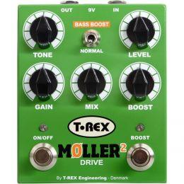 T-Rex Moller II (B-Stock) Pedal Overdrive/Booster T-Rex para guitarra y bajo