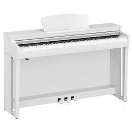 Yamaha CLP 725 White Piano digital Clavinova