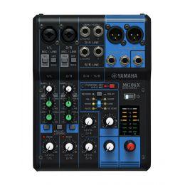 Yamaha MG06X Mesa de mezclas de 6 canales