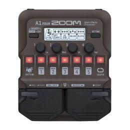 Zoom A1 Four Procesador multiefectos para instrumentos acústicos
