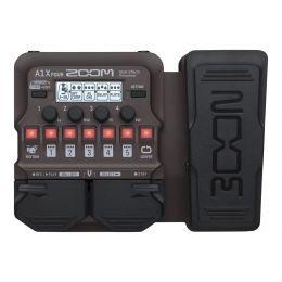 Zoom A1X Four Procesador multiefectos para instrumentos acústicos