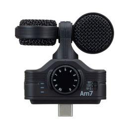 Zoom AM7 Micrófono estéreo para dispositivos Android