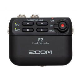 Zoom F2 Grabadora de campo ultra compacta con micro lavalier