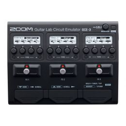 Zoom GCE-3 Interfaz de audio USB mini con FX y emulación de amplificadores de guitarra