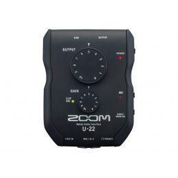 Zoom U 22 Interfaz de audio USB portátil
