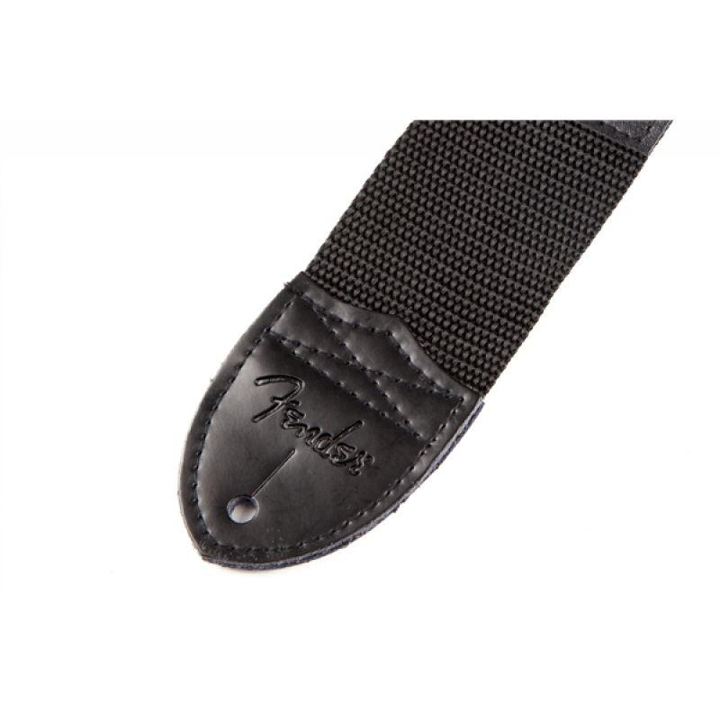 fender_2-black-poly-strap-w-white-imagen-1