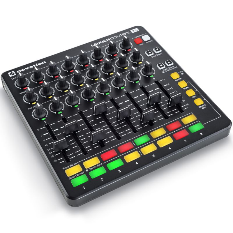 novation_launch-control-xl-mkii-negro-imagen-1