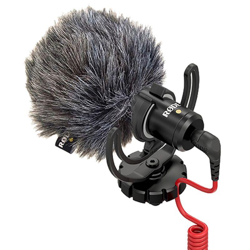 Microfono Rode Videomicro compacto en la Cámara con SC7 Iphone Accesorio